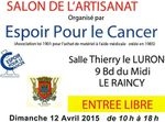 Salon de l'Artisanat au Raincy dimanche 12 avril 2015
