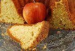 UN BIZCOCHO SIEMPRE APETECE EL FIN DE SEMANA: BUNDT CAKE DE MANZANA CARAMELIZADA Y CALVADOS (Y CHANTILLY DE CARAMELO SALADO)