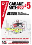 Cabane GCO : manifestation annulée