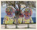 Art street, La Rochelle . 2)