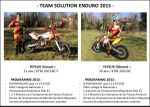 TEAM SOLUTION ENDURO 2015