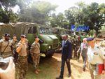 CENTRAFRIQUE:DES MATÉRIELS MILITAIRES REMIS AUX FACA