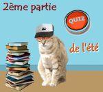 Quiz de l'été : les chats dans la littérature - Suite et fin