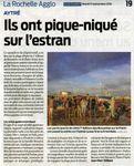 7ème édition de Brouette sur le Platin : article SUD-OUEST et la vidéo LaRochellePass TV.