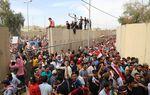 Le régime irakien secoué par l'assaut de la «Zone verte» à Bagdad