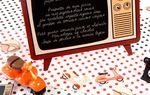 Nouveauté : les marque-places ou marque-table style vintage des années 50