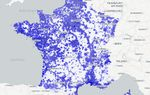 Carte de France de la couverture mobile