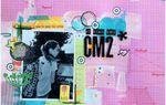 Page de scrap : Rentrée scolaire CM2