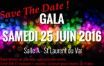 MODIFICATION DATE GALA FIN D'ANNEE