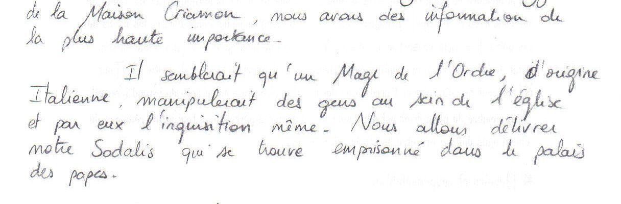 Fonds de tiroirs : Lettres d'Aymeline.