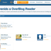 Noticia verañegua: ¡sale el Reader de OverBlog!