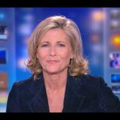 [2012 07 01] CLAIRE CHAZAL - TF1 - LE 20H @20H00