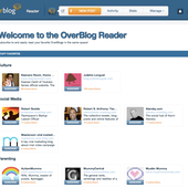 Breaking news: OverBlog launches its Reader!