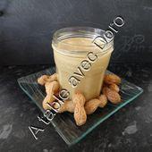 Beurre de cacahuètes au thermomix - A table avec doro