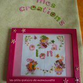 ... Pour Elena ( version point de croix ) - les-ptits-plaisirs-de-mamounette