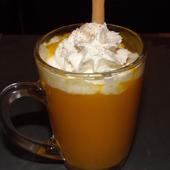 La soupe de potimarron qui se prenait pour un cappuccino
