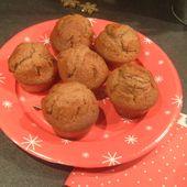 Petits muffins pralinoise