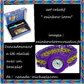 "LA TENDANCE "" RAINBOW LOOM "" - CLG Création Version 2.0"