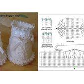 Chaussons pour bébé et leurs grilles gratuites ! - Modèles pour Bébé au Crochet