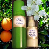 Mon Spray Coiffant Disciplinant & mon Sérum Dessine Boucles à l'Orange -