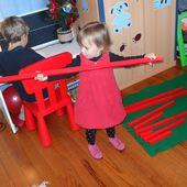 Les barres rouges - Les Ateliers de Cathy