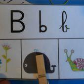 Les spelling cards - Les Ateliers de Cathy
