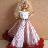 tuto gratuit barbie : haut de la tenue Elizabeth - laramicelle