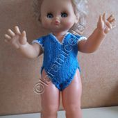 tuto gratuit poupée : body col V - Chez Laramicelle