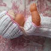 tuto gratuit bonnet bébé ou poupée nenuco - laramicelle