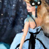 tuto gratuit barbie : robe longue guêpière de fête - Chez Laramicelle