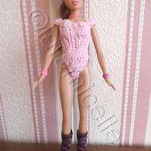 tuto gratuit barbie : body échancré - Chez Laramicelle