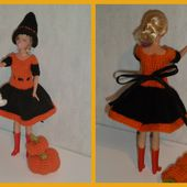 Nelly tricote pour Halloween - laramicelle