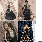 mes petites robes noires chez Pipiou - Chez Laramicelle