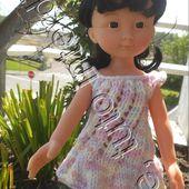 tuto gratuit poupée: robe vent du Nord - Chez Laramicelle