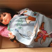 tutos gratuits pour poupée Nancy et Noël des poupées