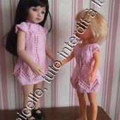 tuto gratuit poupée: robe estivale pour Nancy - Chez Laramicelle