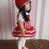 tuto gratuit poupée : un bibi pour une jolie poupée - Chez Laramicelle