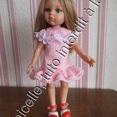 tuto gratuit poupée: robe à godets - Chez Laramicelle