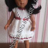 tuto gratuit poupée: robe printanière - Chez Laramicelle