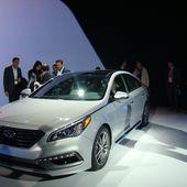 Nouvelle Hyundai Sonata - FranceAuto-actu - actualité automobile en France et à l'étranger