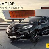 Le Renault Kadjar désormais en Black Edition! - FranceAuto-actu - actualité automobile régionale et internationale