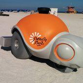 Le robot qui dessinait sur le sable [robocute]