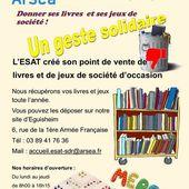 Livres et de jeux de société pour l'ESAT - anciens9genie.overblog.com