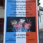 Festivités du 14 juillet dans un village alsacien : Herrlisheim (68) - anciens9genie.overblog.com