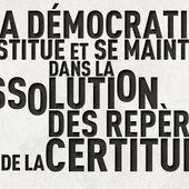 LA DEMOCRATIE A L'EPREUVE DES GRANDS PROJETS - fedetlib.overblog.com