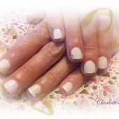 Nail art : frenchie