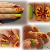Nail art : flower power