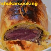 Roti de filet de bœuf en croute - Shukar Cooking