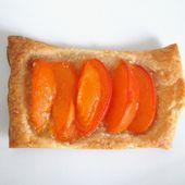 Feuilletés aux abricots