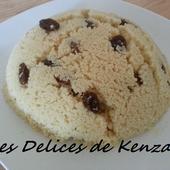 Mesfouf aux raisins secs - Les Delices de Kenza